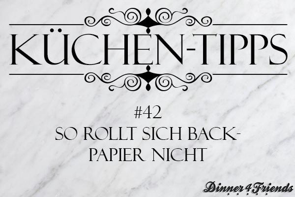 So rollt sich Backpapier nicht zusammen