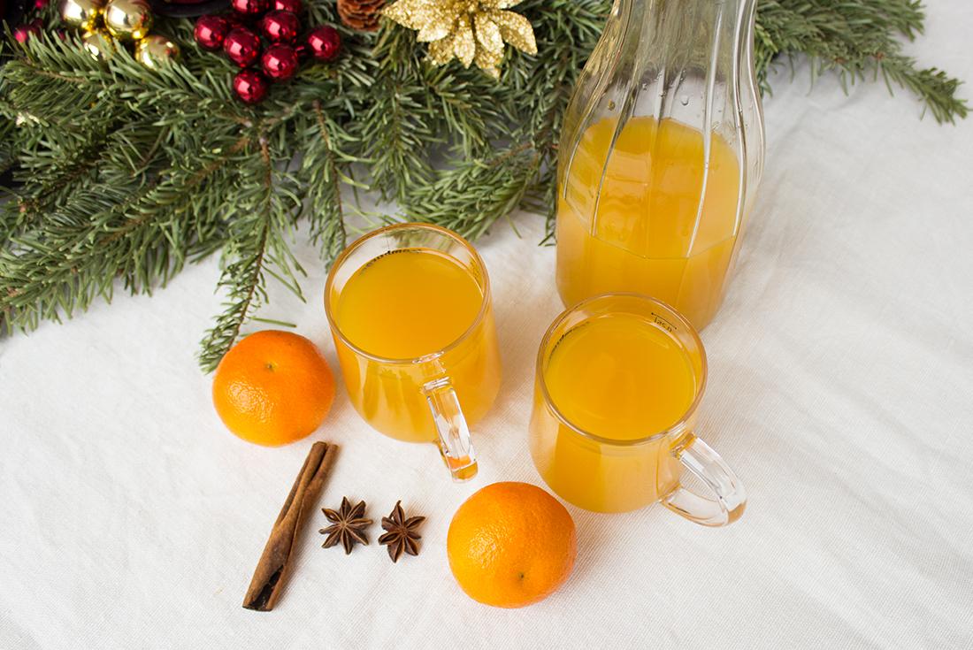 Alkoholfreier Punsch: Mandarinenpunsch