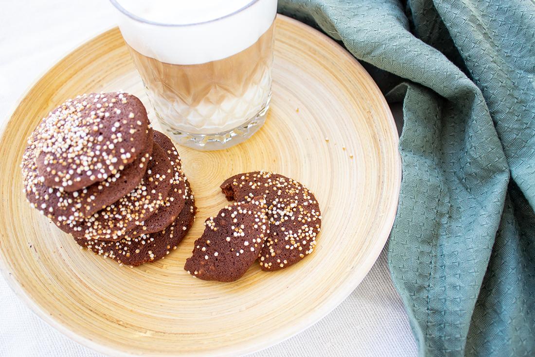 Amaranth-Schoko-Kekse