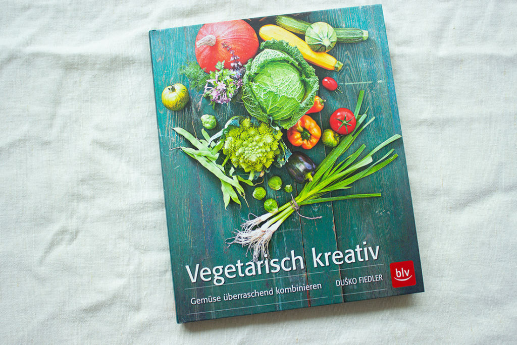 Mein Lieblings-Kochbuch im August: Vegetarisch kreativ.