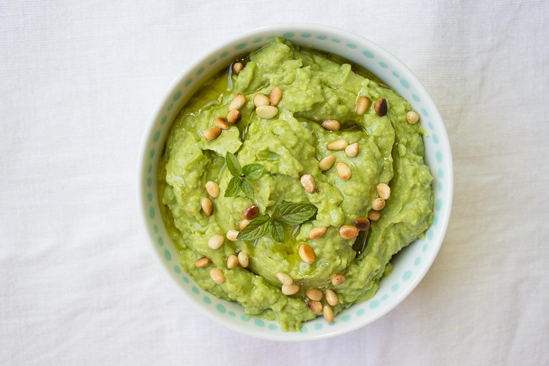 Avocado-Dip mit Tahine