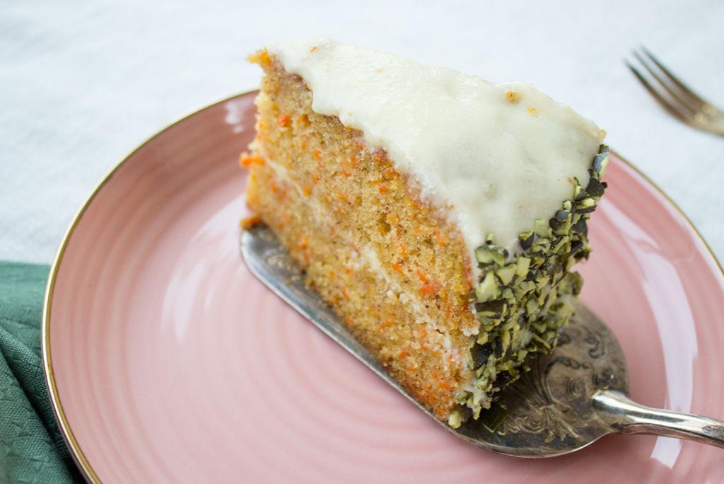 Saftiger, fluffiger Carrot Cake