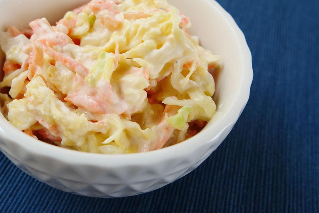 Ein leicht verträglicher Krautsalat: Coleslaw