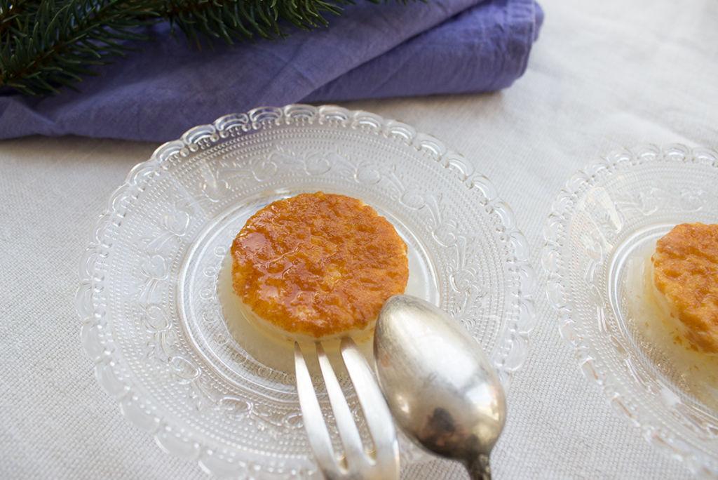 Creme Caramel: ein perfektes Festtagsessen.