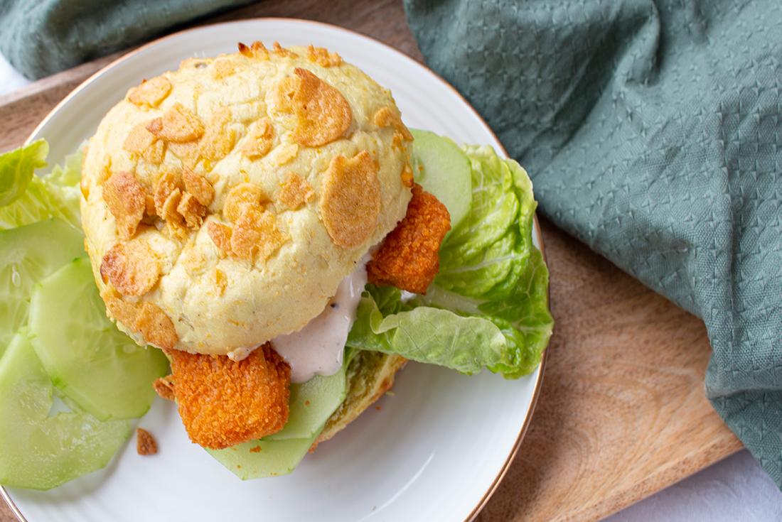 Schnelles Essen: Fischstäbchen-Burger