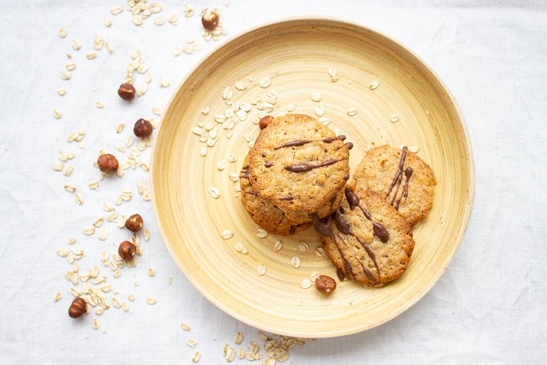 So schnell gemacht, so lecker: Hafer-Haselnuss-Kekse