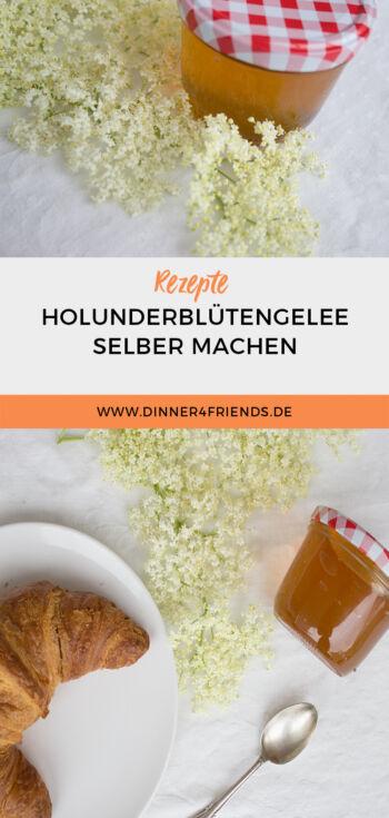 Rezept: Holunderblütengelee selbst machen