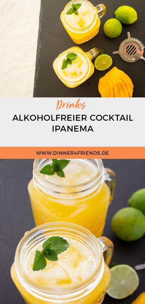 Ipanema: alkoholfreier, erfrischender Cocktail