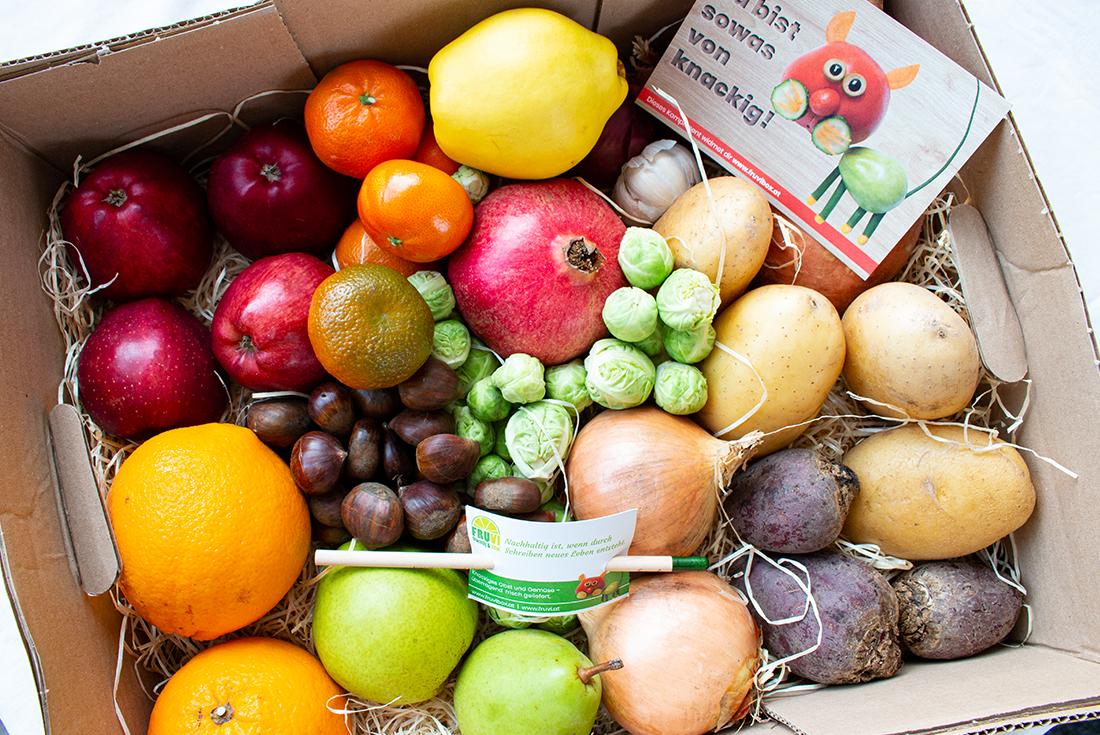 Mein Liebling im Januar 2021: Obst und Gemüse satt von Fruvi!