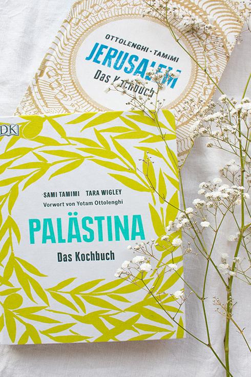 Zwei meiner liebsten Kochibücher: Palästina von Sami Tamimi und Jerausalem von Yotam Ottolenghi