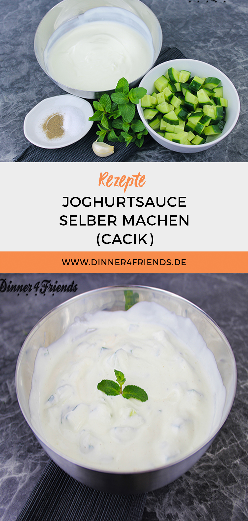 Joghurtsauce: Cacik selbermachen