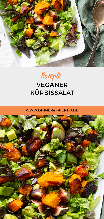 Veganer Kürbissalat