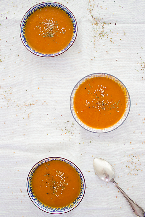 Karotten-Paprika-Suppe: perfekt für den Vorrat und vegan ist sie auch noch