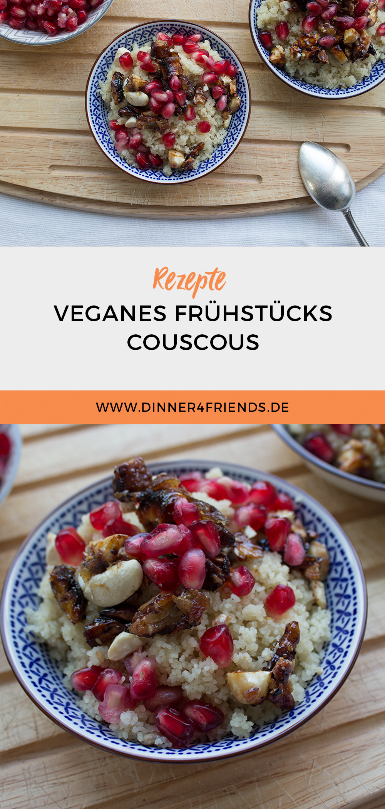 Veganes Couscous zum Frühstück
