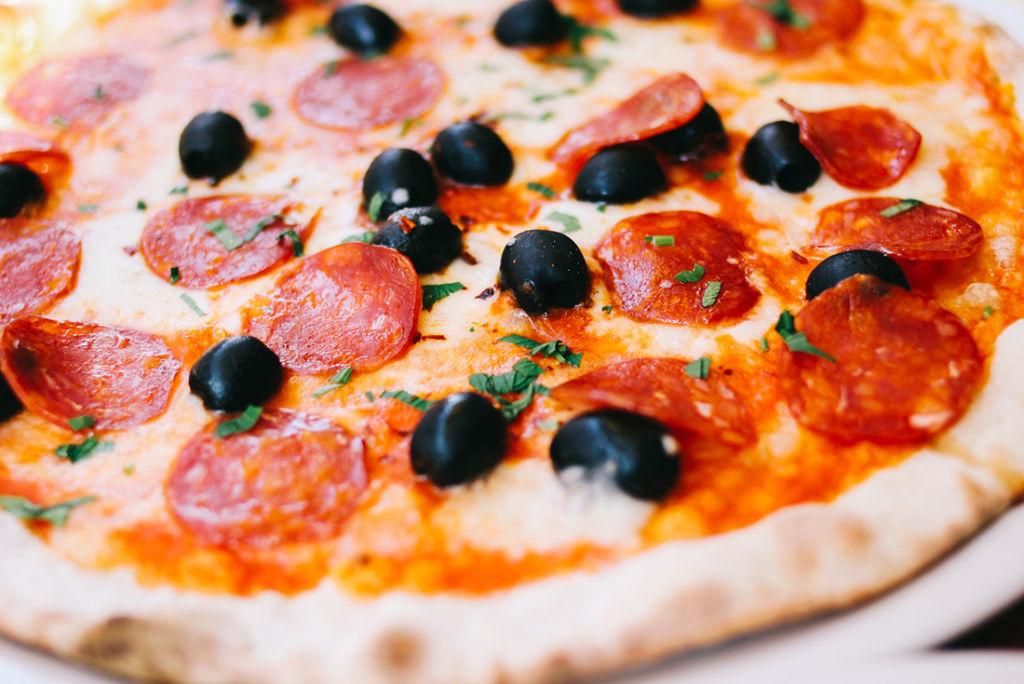 Pizza fast direkt vom Ofen auf die Couch nachhause!