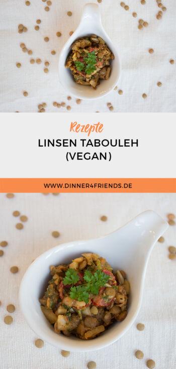 Tabouleh mit Linsen (vegan)