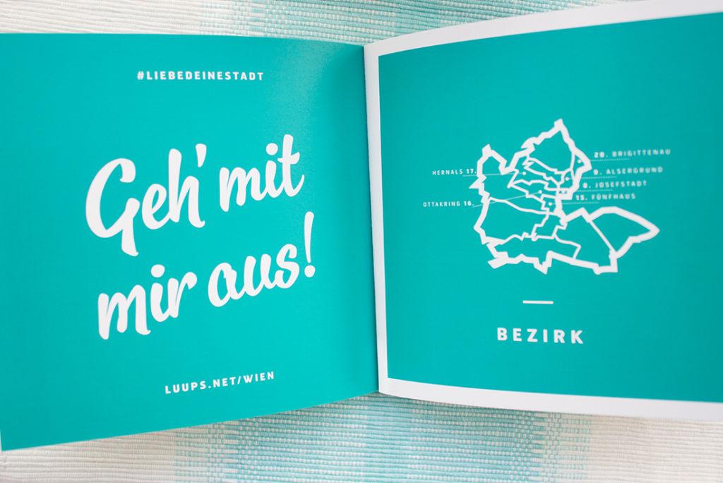 City- und Shoppingguide Luups für Wien.