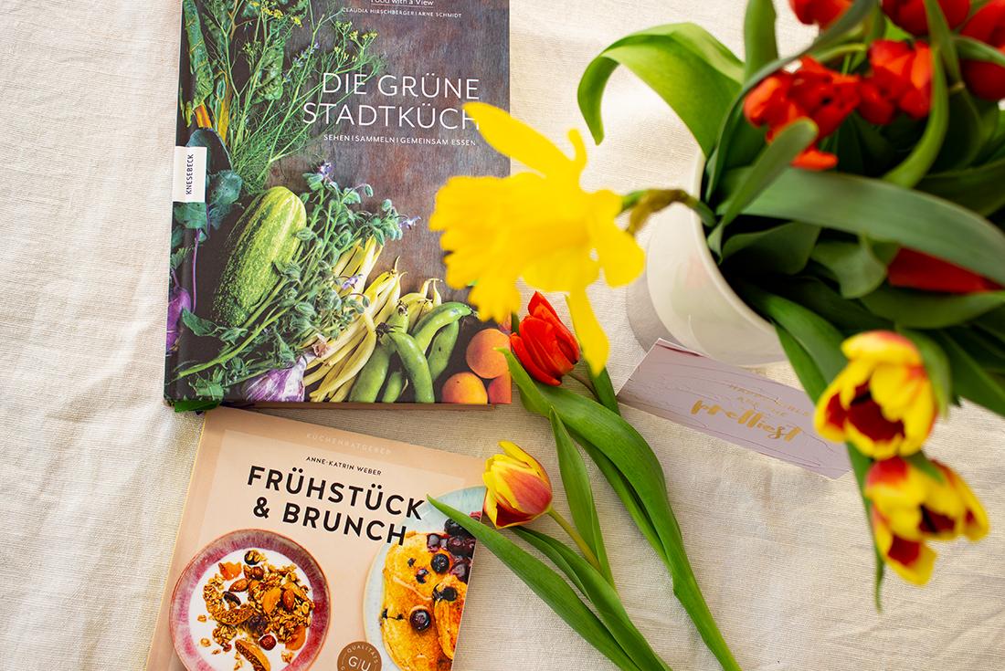 Meine Lieblinge im März: Frühstücken, saisonal kochen und Frühlingsblumen.