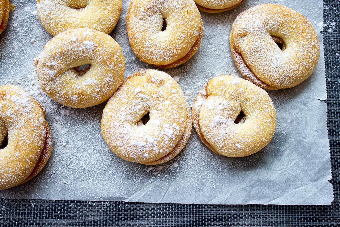 Marzipankringel: einfache Weihnachtskekse