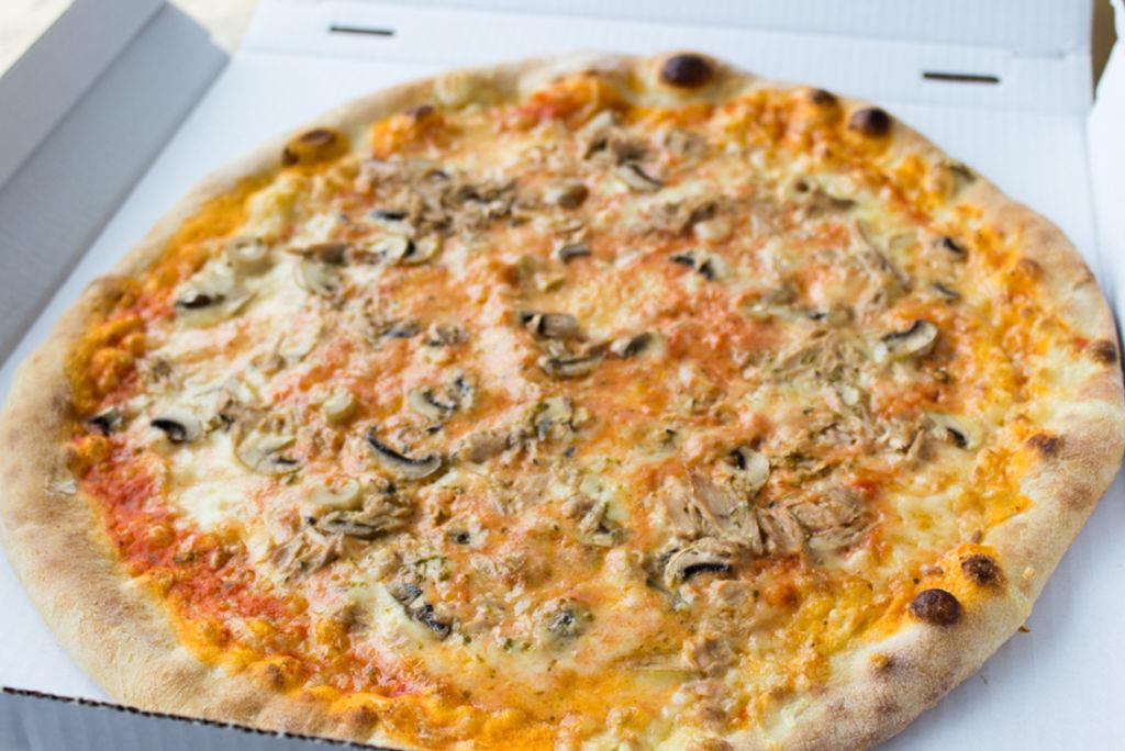 Hat hervorragend geschmeckt: Die bestellte Pizza aus der Pizzeria Casanova!