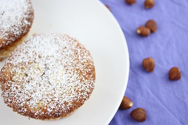 Nuss Muffins mit Banane