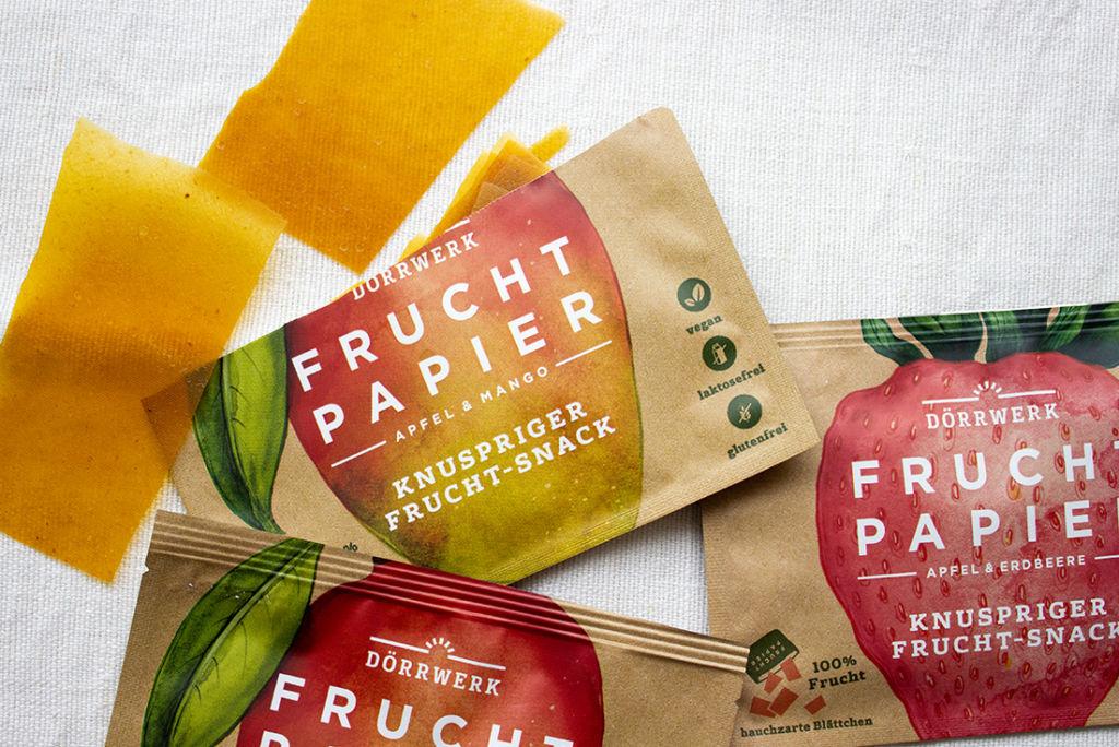 Fruchtpapier: meine neuer Lieblings-Snack