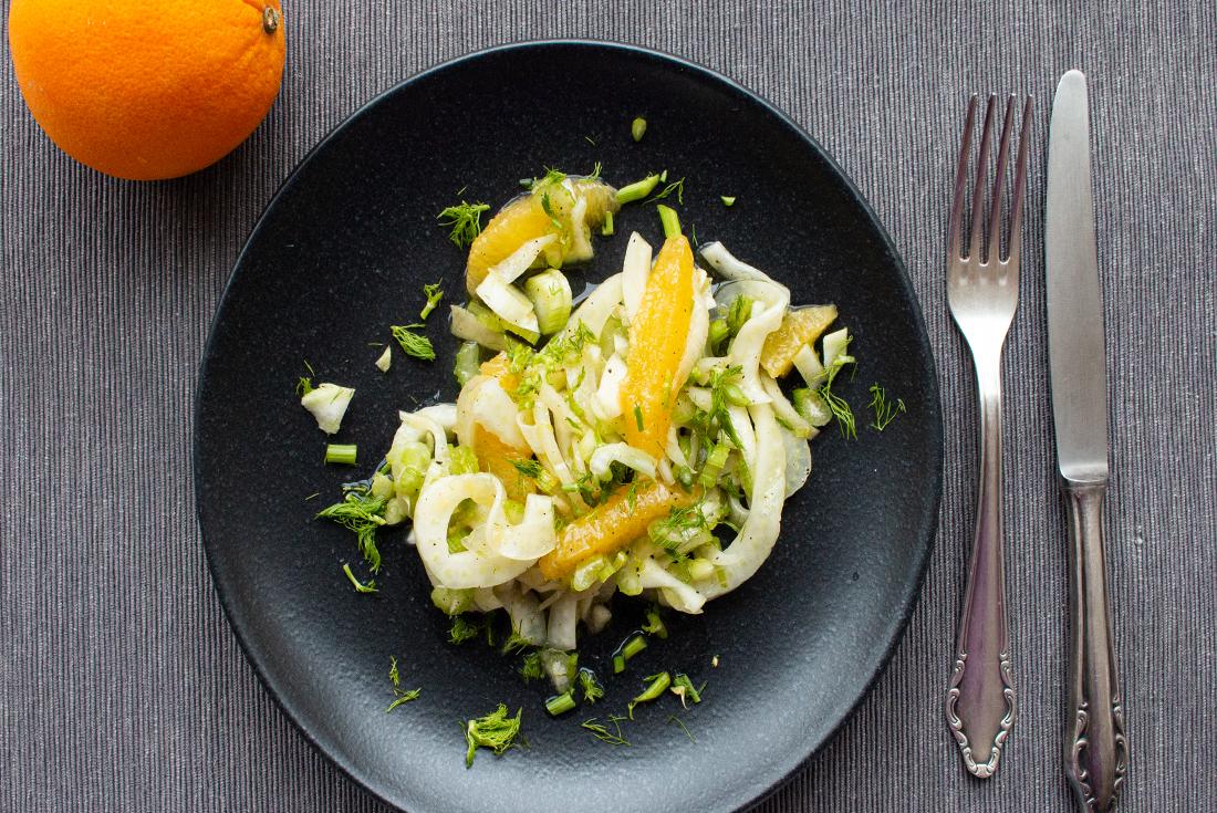 Fenchel-Orangen-Salat (vegan)