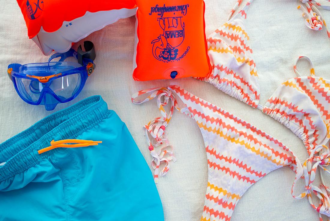 Ein Ausflug ins Freibad gehört zum Pflichtprogramm, wir gehen am liebsten ins Ottakringer Bad.