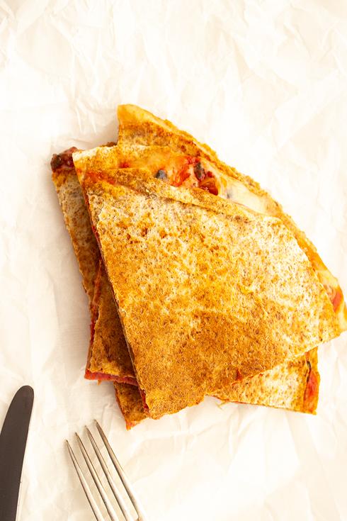 Schnelles Essen für den Alltag: Pizzadillas