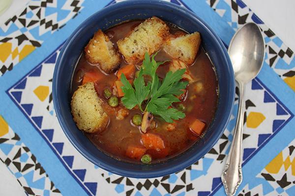 Portugiesischer Fischeintopf: Abenteuerlich gewürzt, aber sooo köstlich!