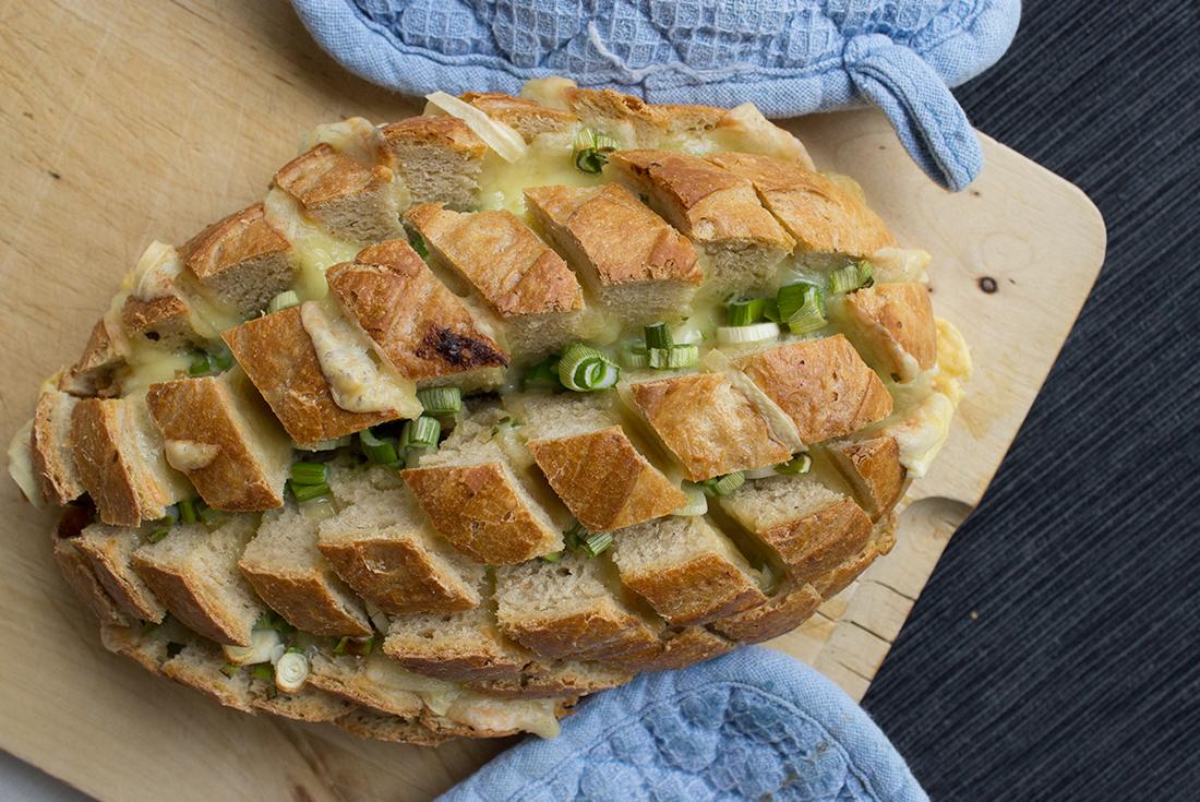Ein Pinterest Rezept im Test: pull apart bread