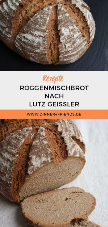 Roggenmischbrot nach Lutz Geissler