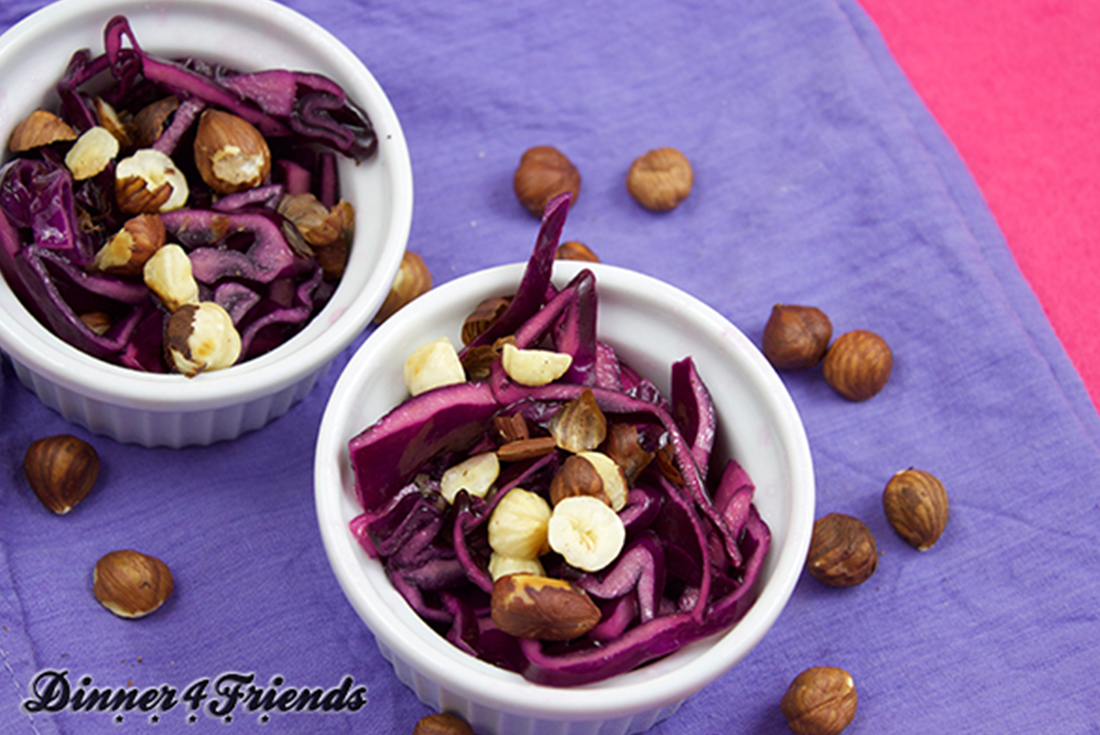 Rotkohl-Salat: perfektes Wintergemüse