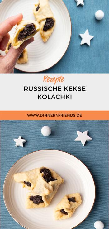 Weihnachtskekse: Russische Kolachki
