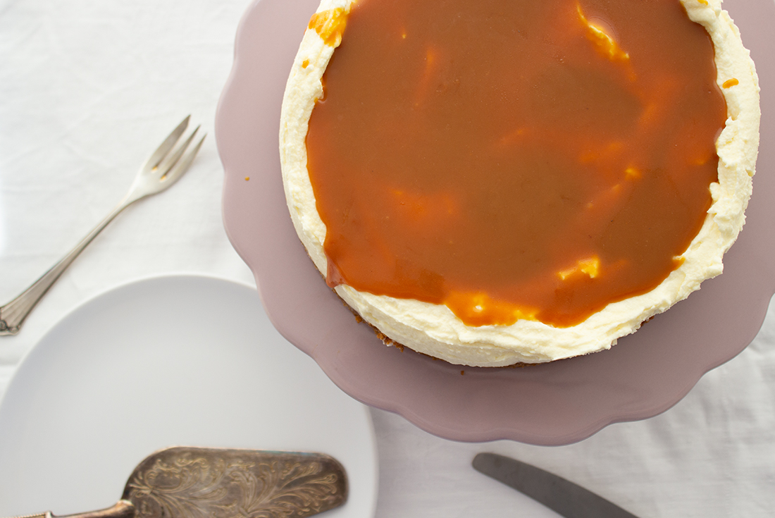 Salted Caramel Cheescake