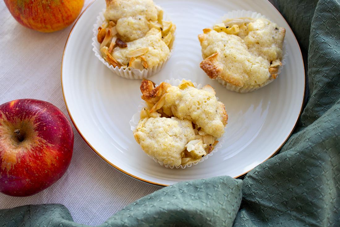 Schnelle Apfel Muffins