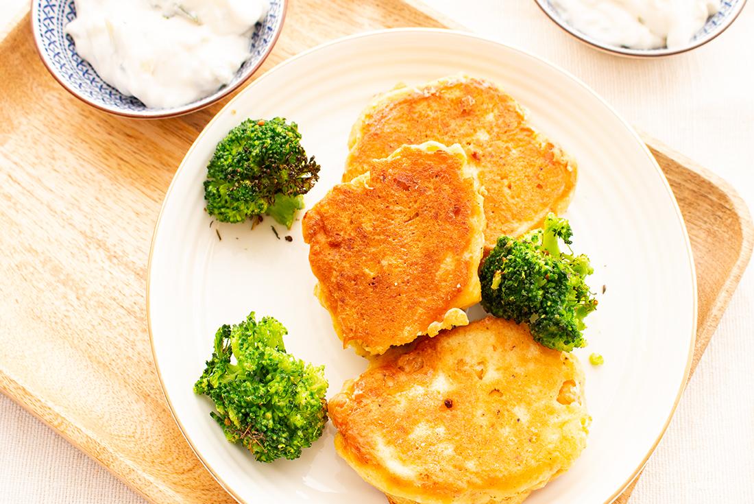 Schnelles Essen am Feierabend: Kichererbsenpuffer