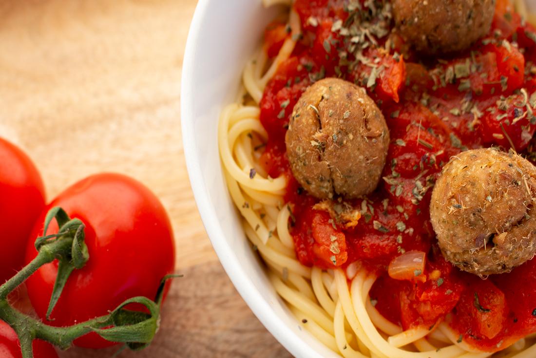 Schnelles Essen: Spagetti mit Thunfischbällchen aus dem Airfryer