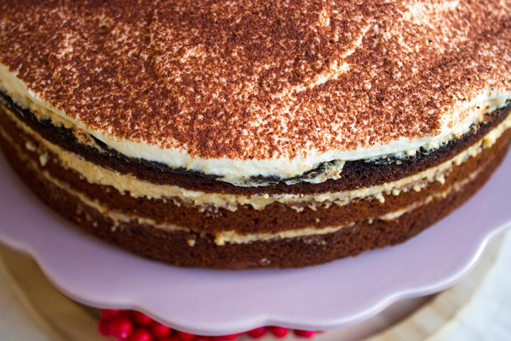 Festliche Torte in der Vorweihnachtszeit: Spekulatiustorte