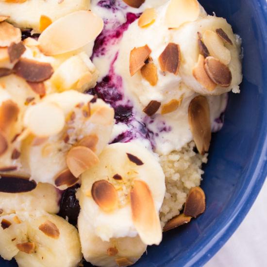 Einfach gut: süsses Couscous zum Frühstück.