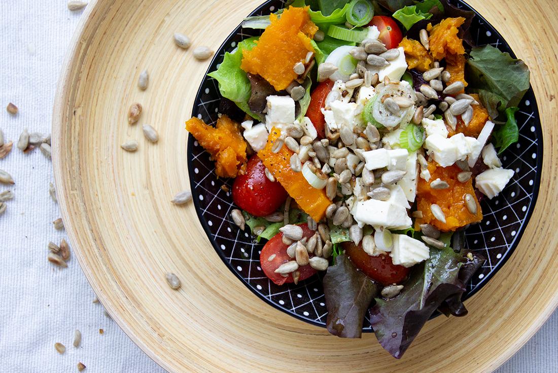 Süßkartoffelsalat: ein einfaches Rezept