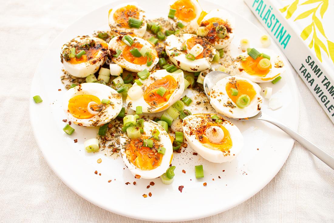 Einfache Eier mit Zatar