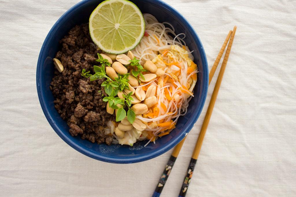 Soulfood in einer Schale: Thai Bowl