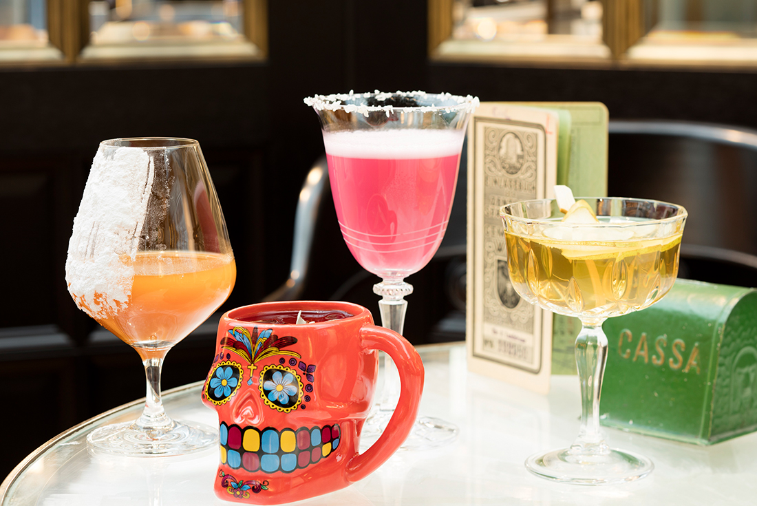 Die besten Cocktails in Wien für mich: Im The Bank im Park Hyatt.
