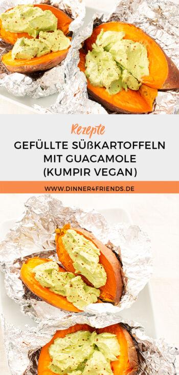 Gefüllte Kartoffeln mit Guacamole: Süßkartoffel-Kumpir