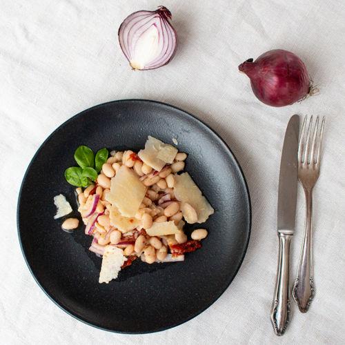 Weißer Bohnensalat