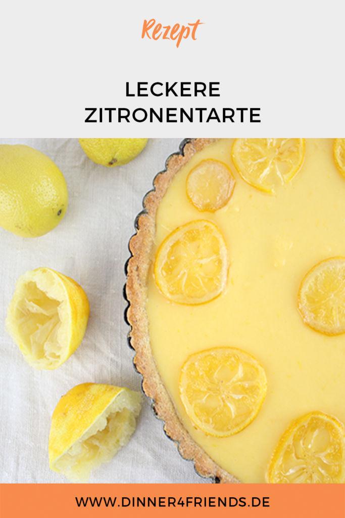 Einfach leckere Zitronentarte