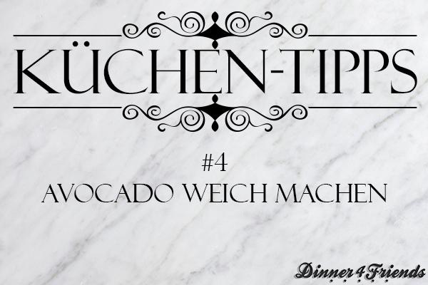 Eure Avocado ist nie reif und immer knallhart? Hier habe ich einen Küchen-Tipp für euch, um Avocado weich und genussfertig zu machen.
