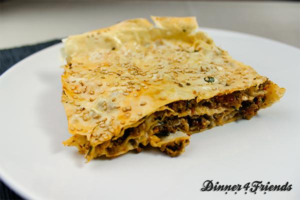 Für Hackfleisch gibt es unzählige Rezept-Varianten: Hier Börek, ein türkisches Gericht.