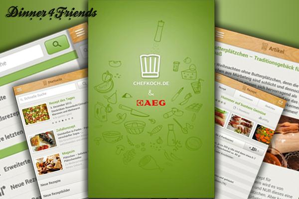 Die App überzeugt genauso wie die Homepage von chefkoch.de.